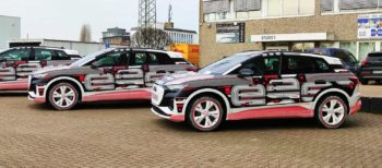 Audi Q4 e-tron prototype media drive conducted ahead of its unveil