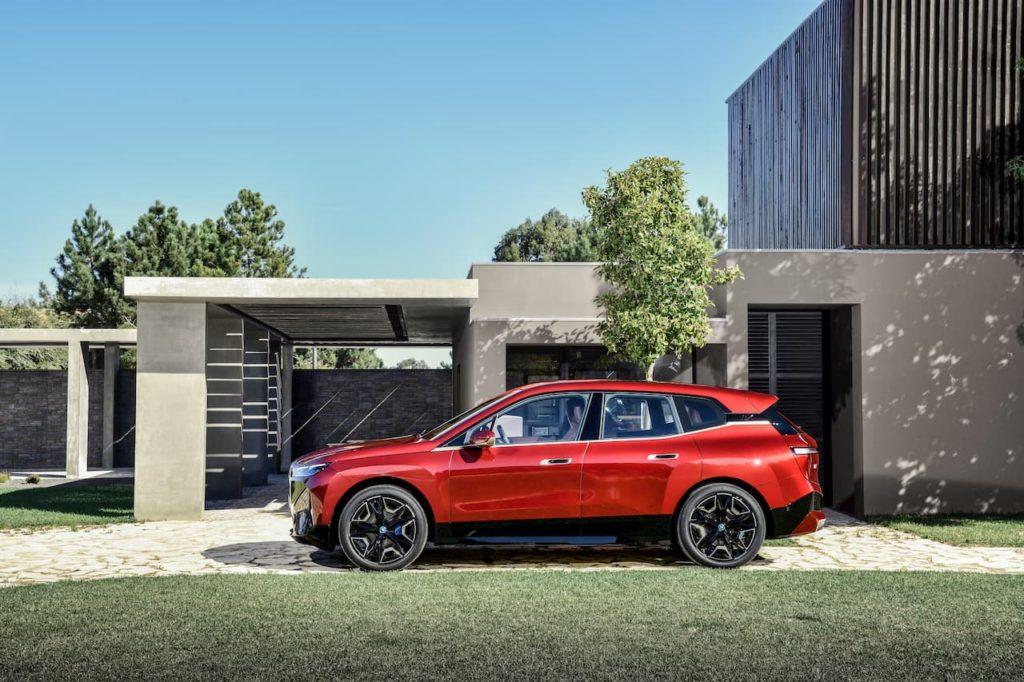 BMW iX Sports Package profile side
