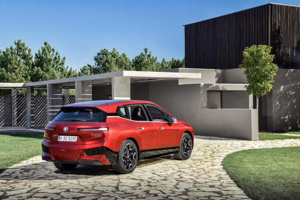 BMW iX Sports Package rear quarters