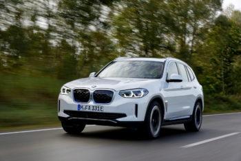 2022 BMW iX3 vs. 2020 BMW iX3: In Photos