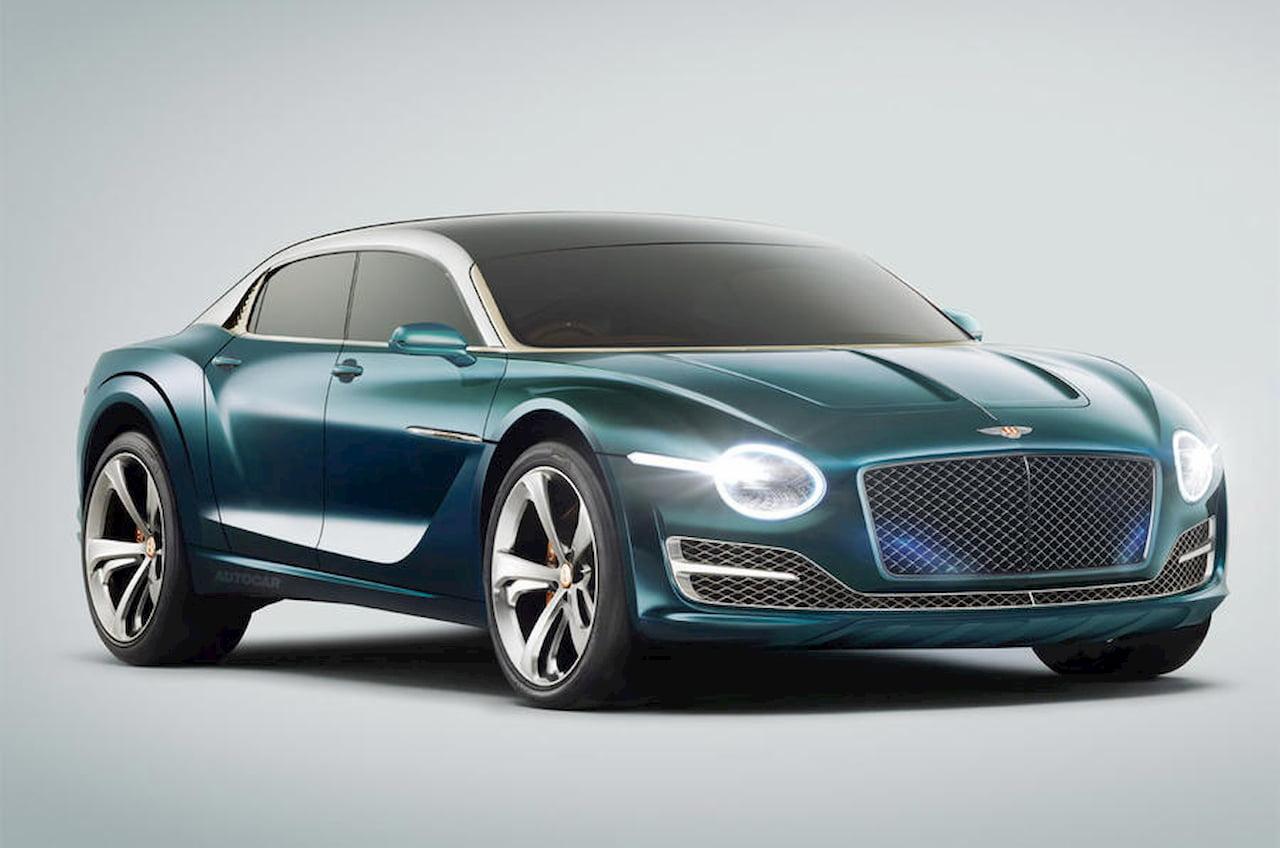 Bentley EV cross sedan