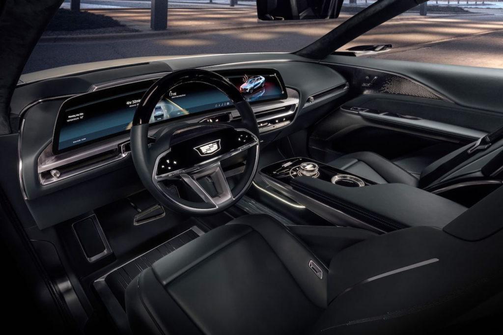 Cadillac Lyriq interior dashboard