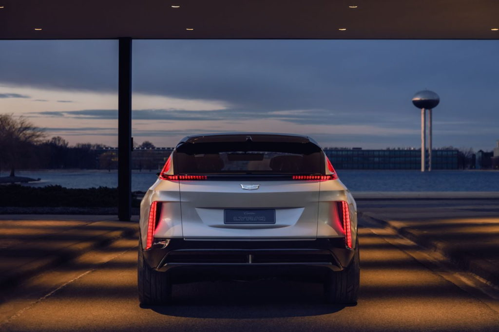 Cadillac Lyriq rear quarters