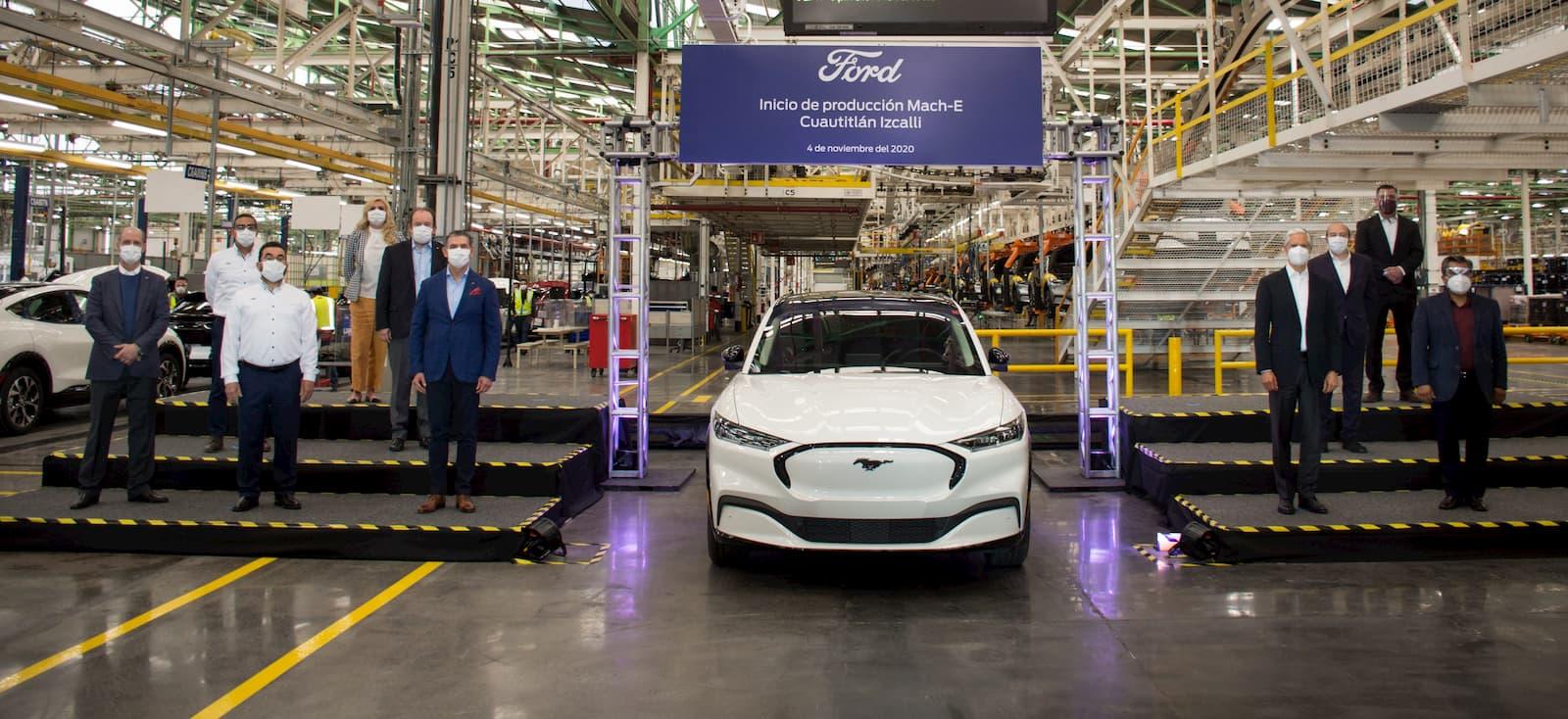 Ford Mustang Mach-E production Cuautitlan Izcalli plant