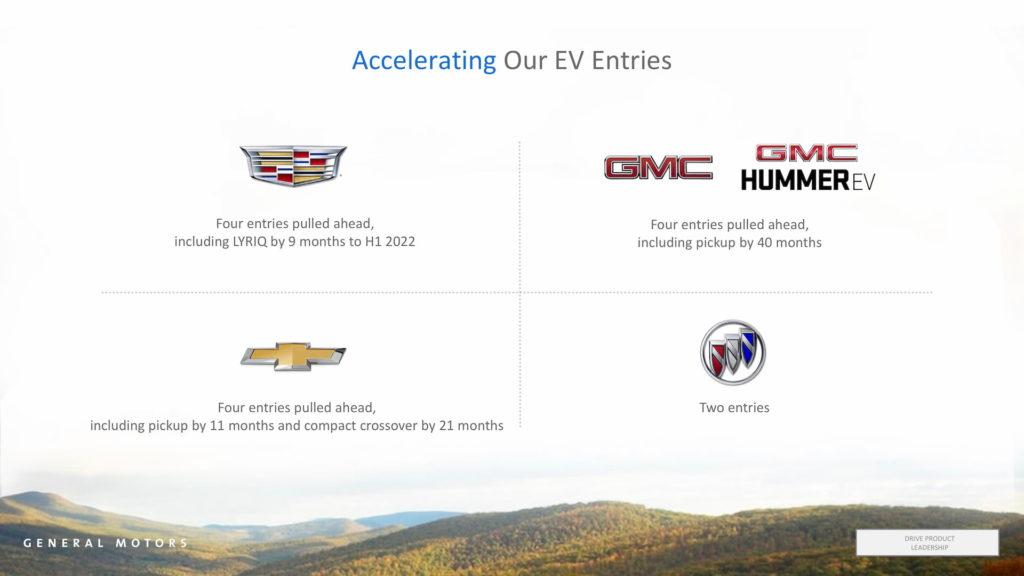 GM EV development time