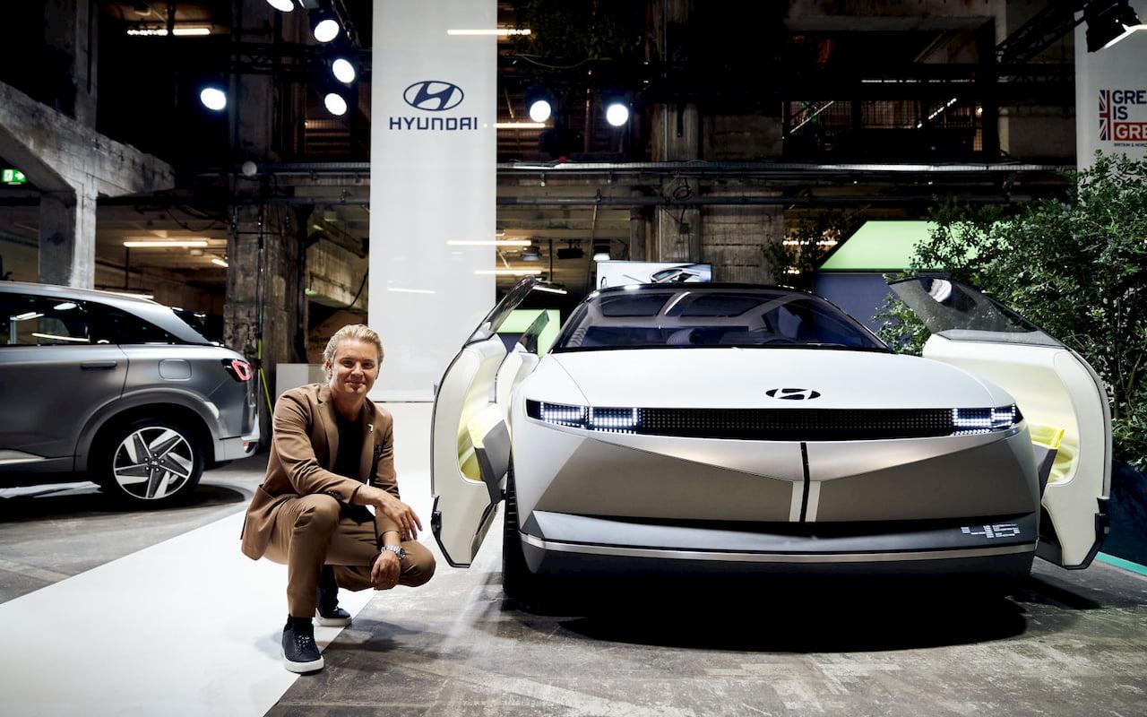 Hyundai 45 concept front