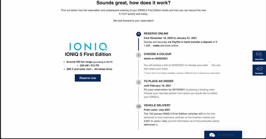Hyundai Ioniq 5 leak