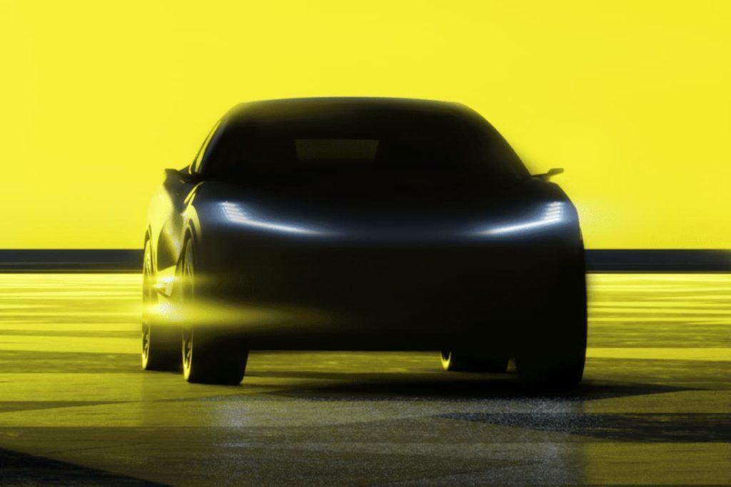 Lotus electric SUV Lotus Type 134 teaser