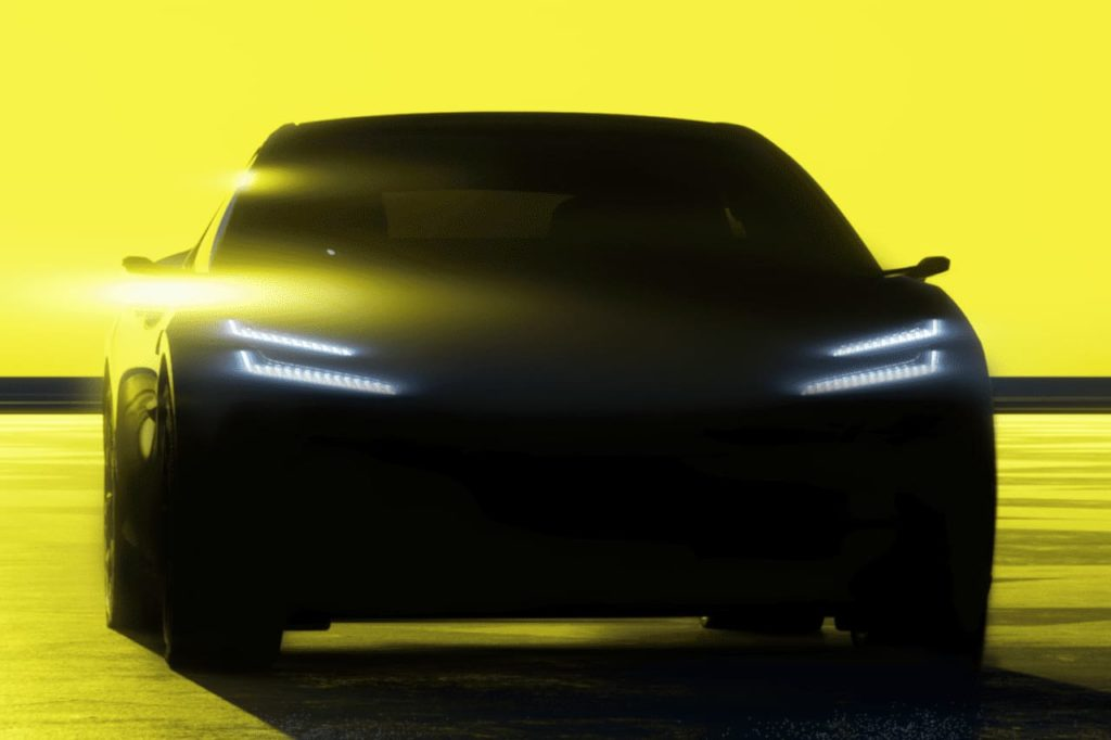 Lotus electric SUV coupe Lotus Type 133 teaser