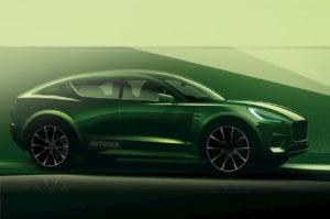 Lotus electric SUV rendering