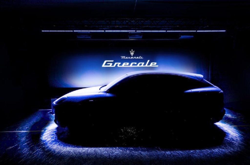 Maserati Grecale teased