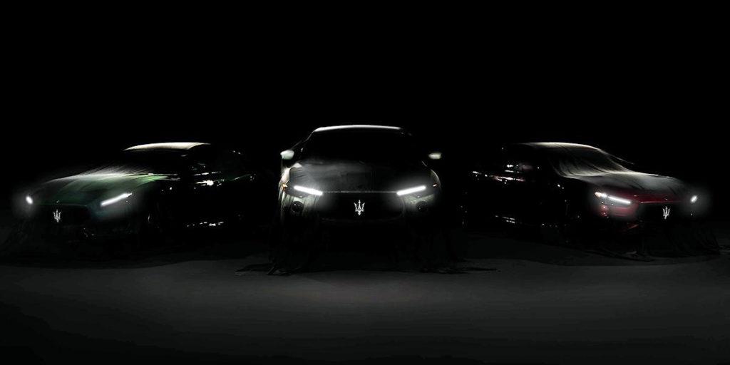 Maserati teased