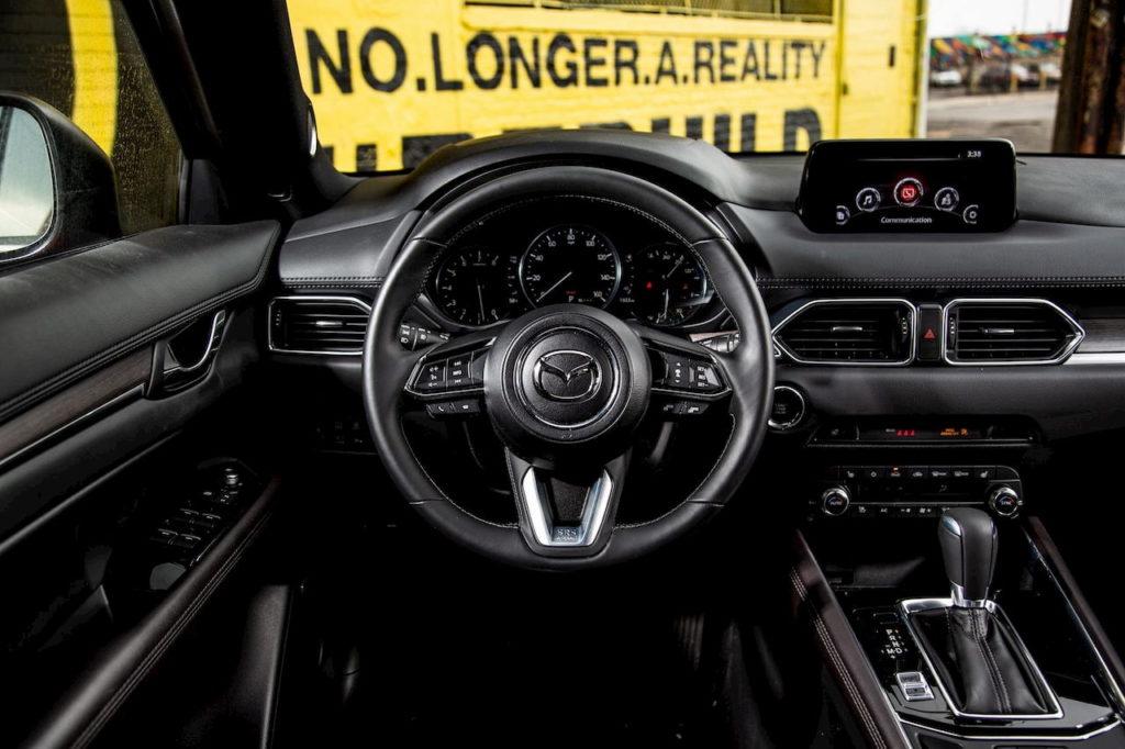 Mazda CX-5 dashboard driver side