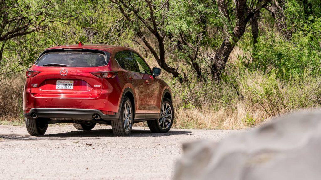 Mazda CX-5 rear quarters