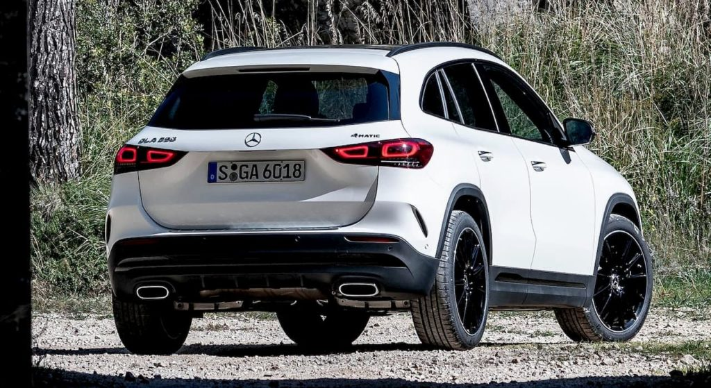 Mercedes GLA rear