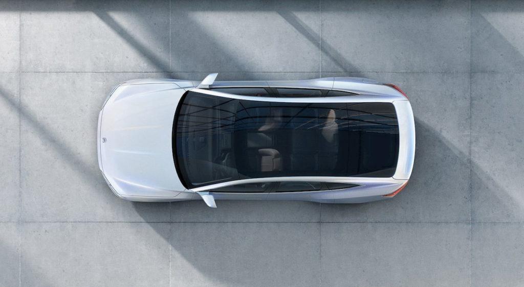Nio ET Preview ET7 top roof