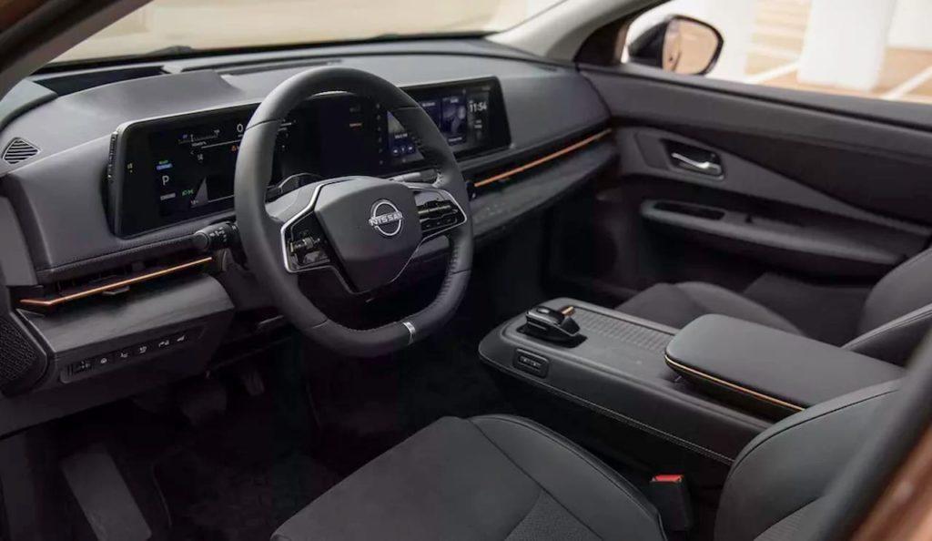 Nissan Ariya interior dashboard