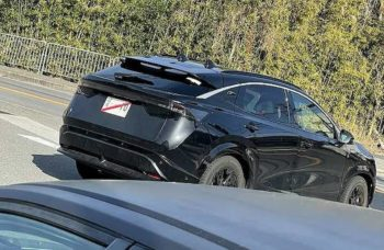 Nissan Ariya spotted on test ahead of its year-end U.S. launch