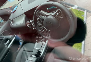 Interior of the Mercedes EQA exposed as debut draws closer
