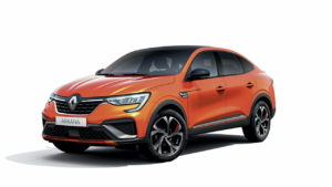 Renault Arkana hybrid front quarters