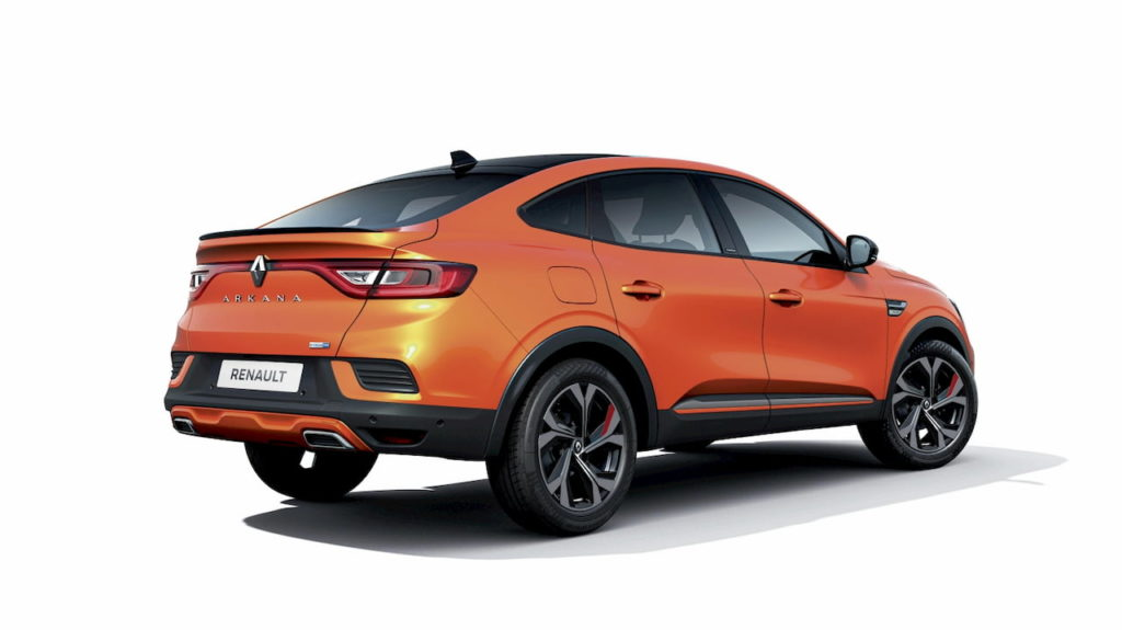 Renault Arkana hybrid rear quarters