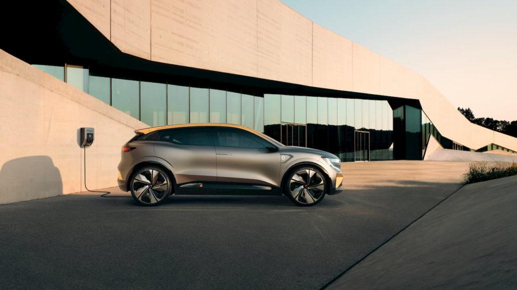Renault Megane eVision profile side