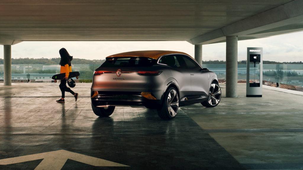 Renault Megane eVision rear quarters