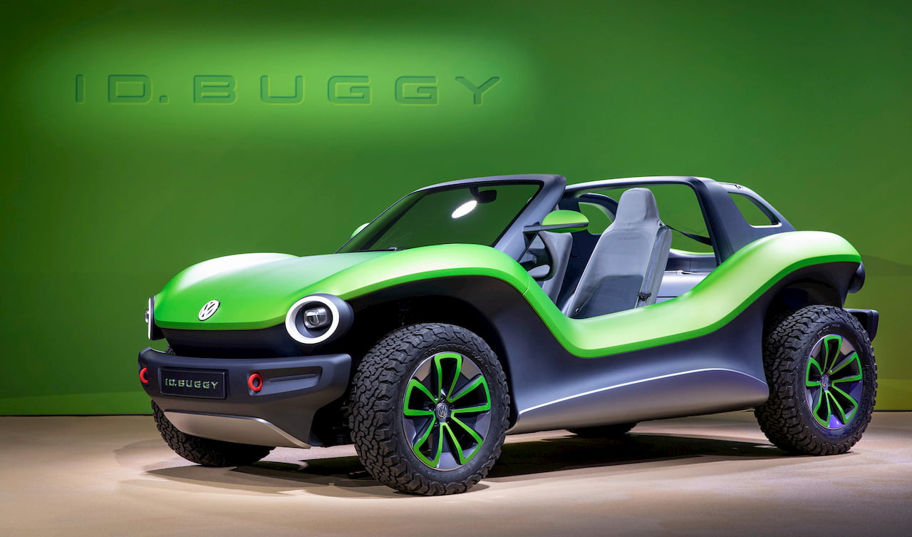 VW ID. Buggy front quarters NYIAS 2019
