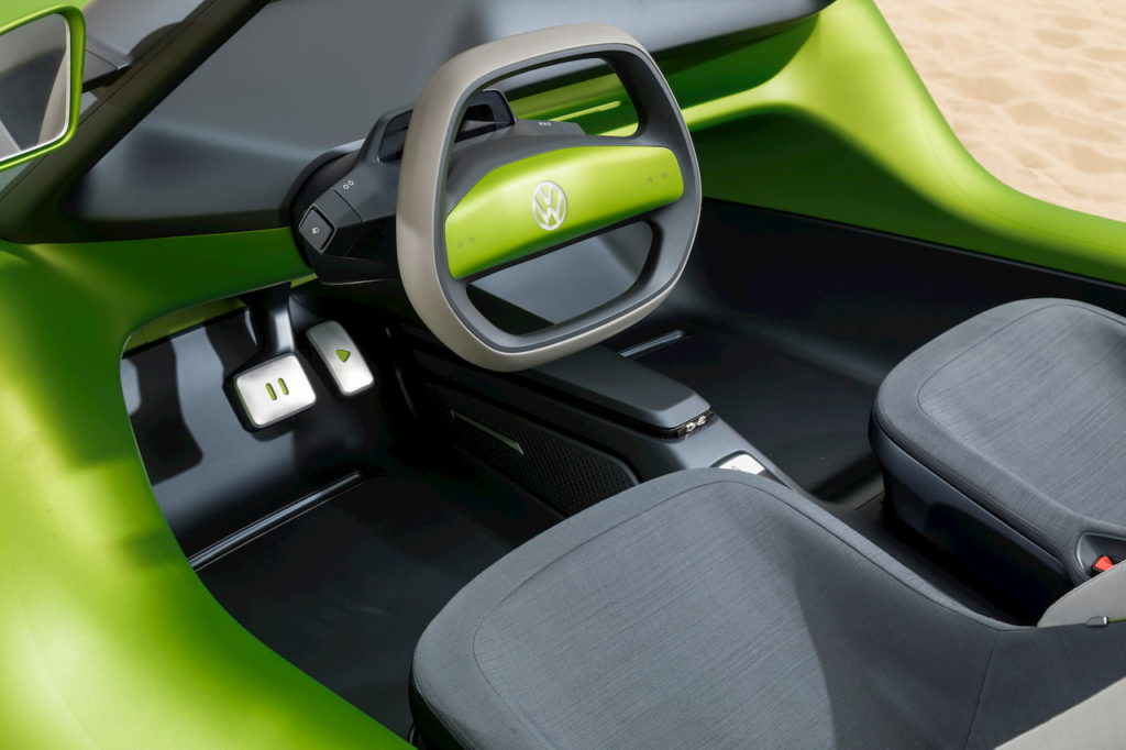 VW ID. Buggy interior