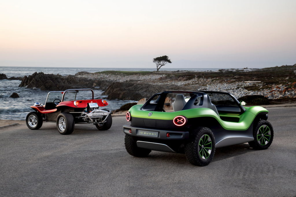 VW ID. Buggy rear quarters dune buggy