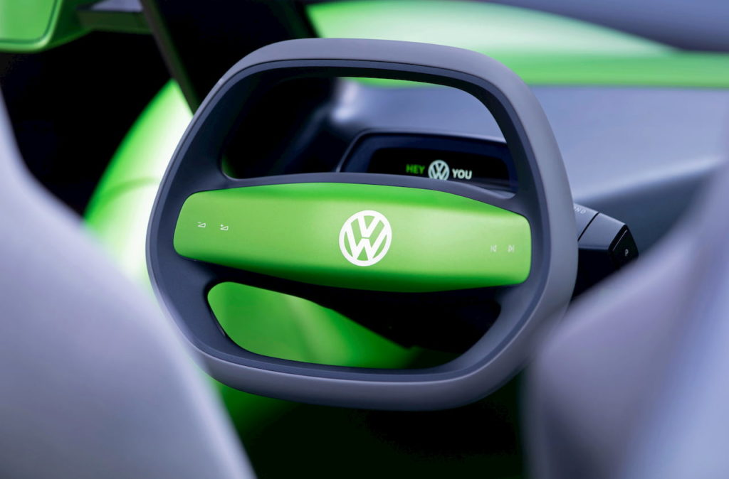 VW ID. Buggy steering NYIAS 2019