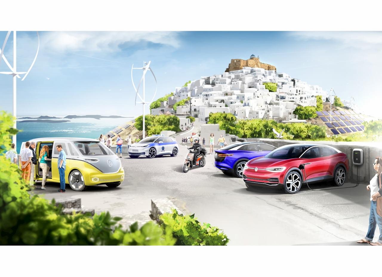 Volkswagen Greece model island