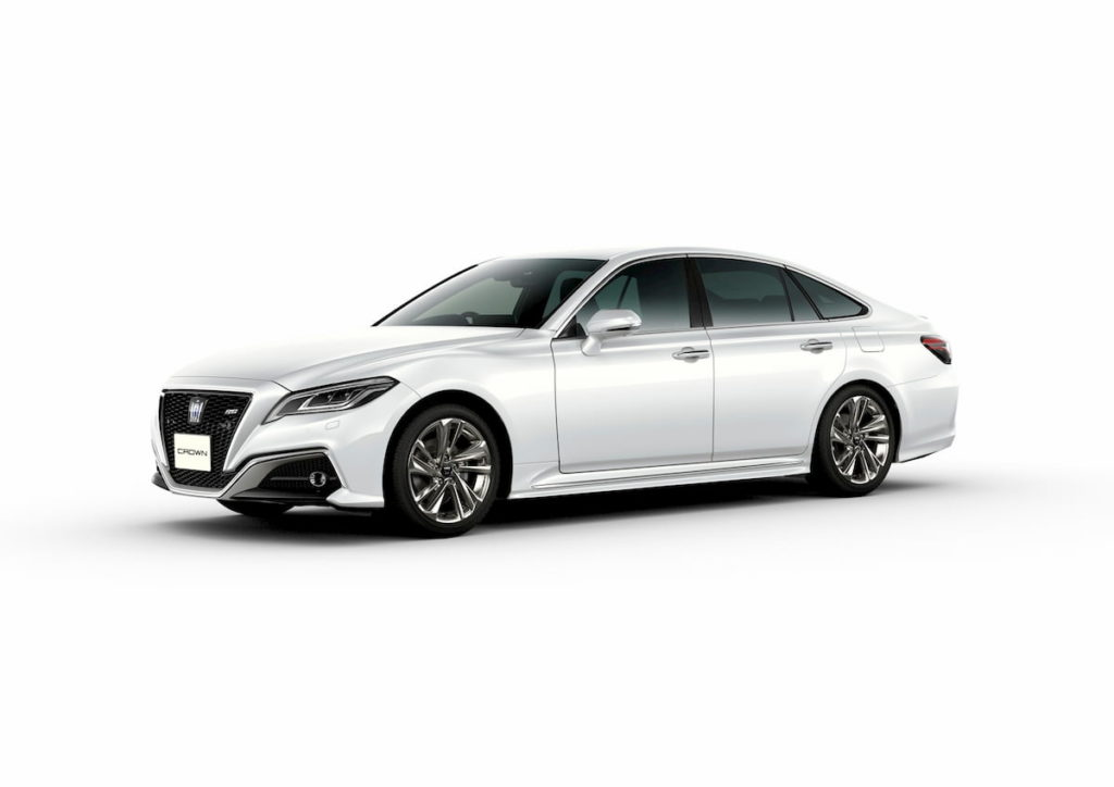 2021 Toyota Crown front quarters