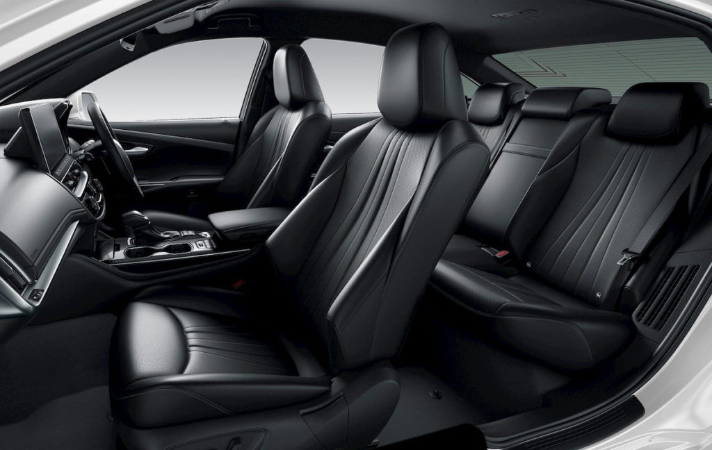 2021 Toyota Crown interior cabin seats