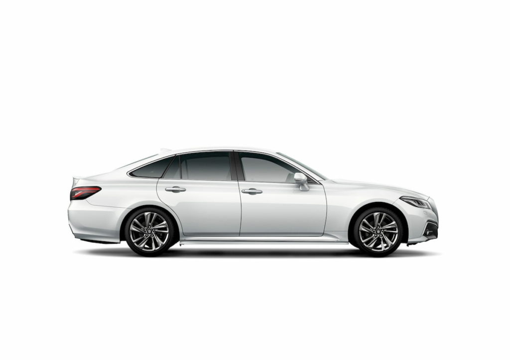 2021 Toyota Crown side profile