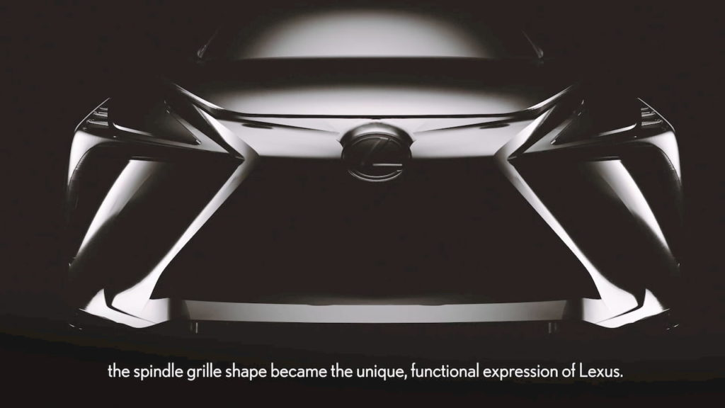 Lexus Electric Suv Marks A New Chapter For The Spindle Grille