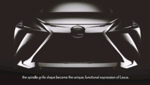 2022 Lexus electric SUV teaser