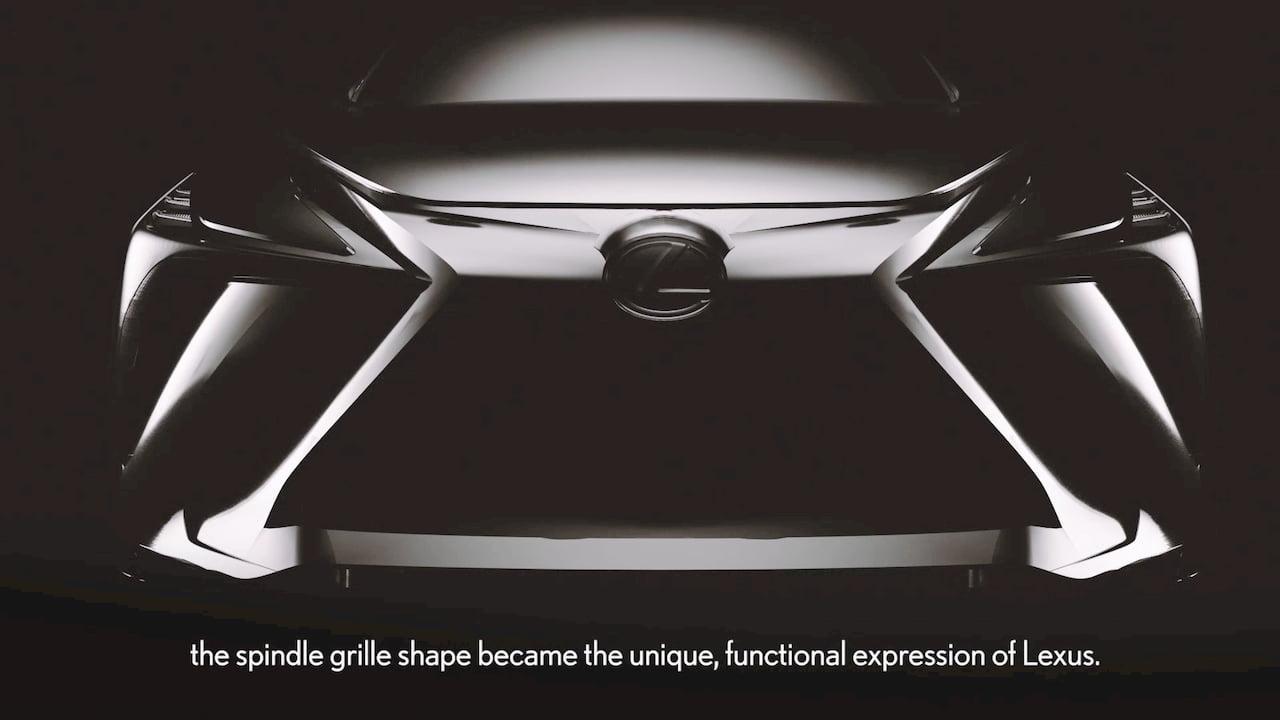 2022 Lexus electric SUV teaser