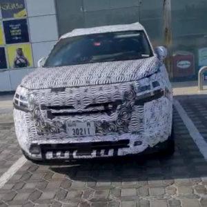 2022 Nissan Pathfinder front spy shot