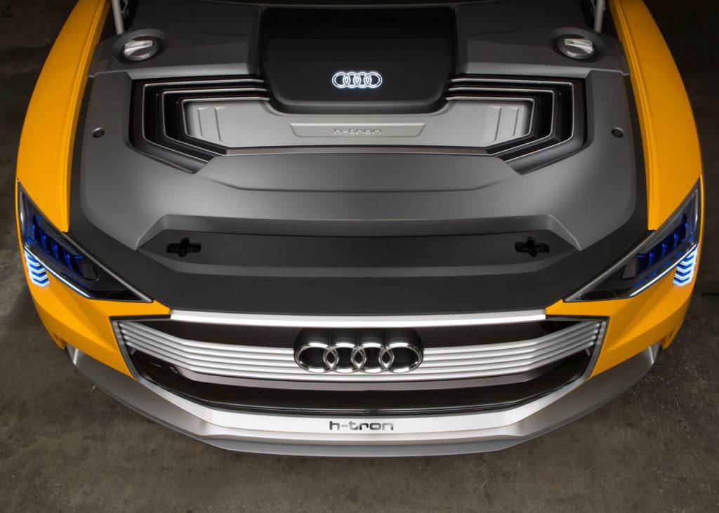 Audi H-Tron fuel cell concept