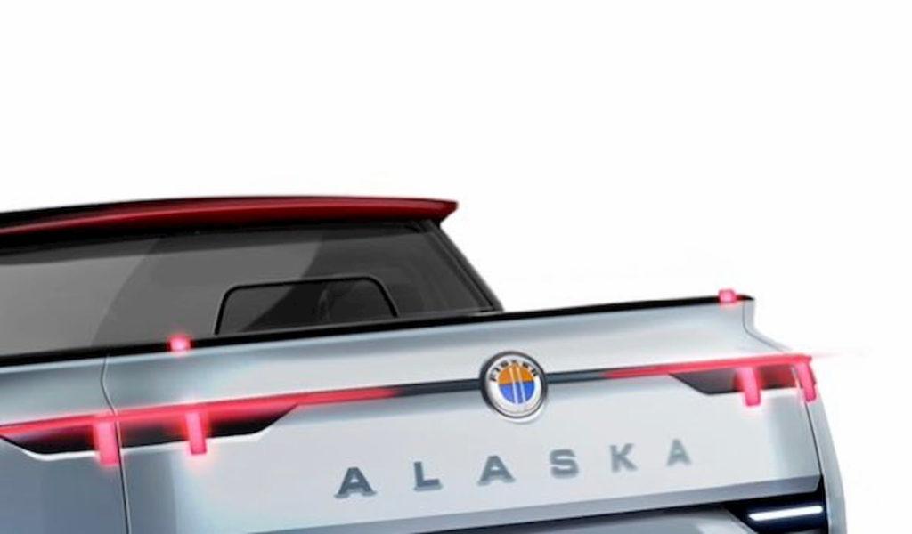 Fisker Alaska rear teaser