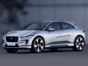 Jaguar I-Pace tweaked