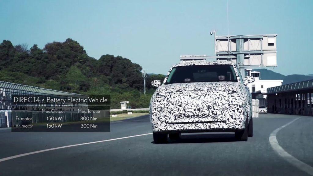 Lexus electric SUV power output