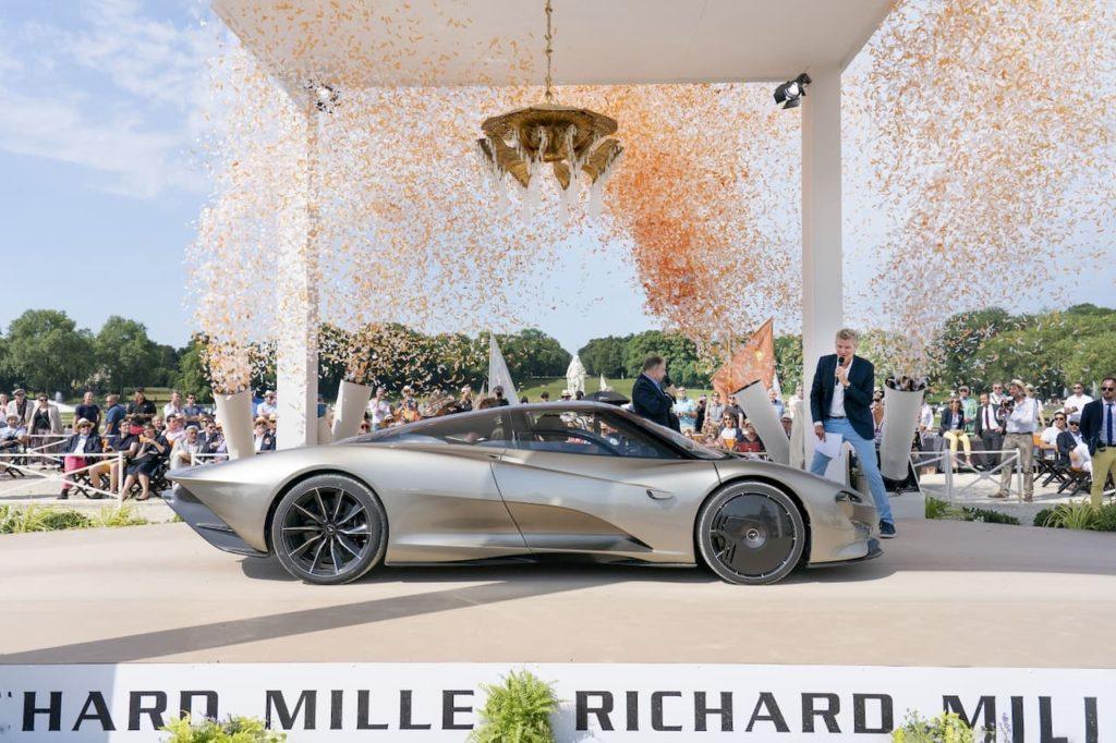 McLaren Speedtail profile side