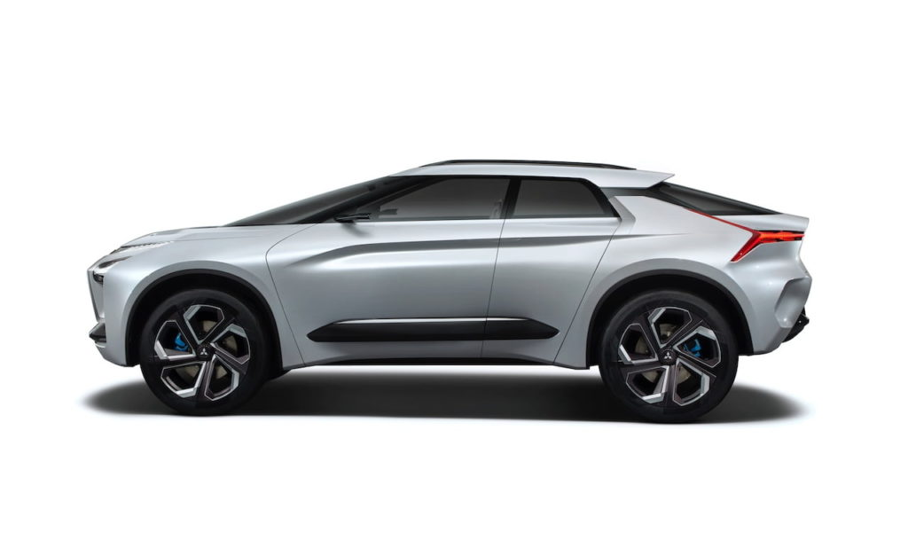 Mitsubishi e-evolution concept profile
