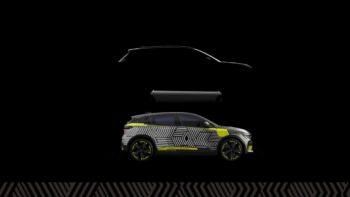 Production Renault Morphoz electric SUV teased at eWays ElectroPop