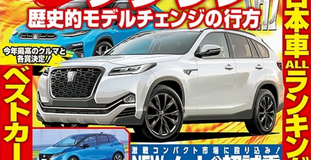 Toyota Crown SUV rendering BestCar