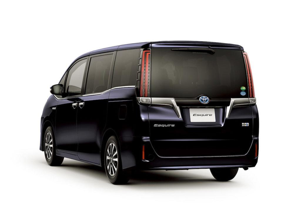 Toyota Esquire rear quarters