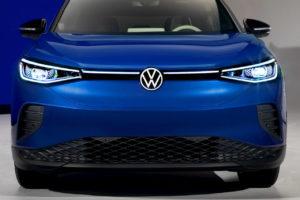 US-spec VW ID.4 front fascia