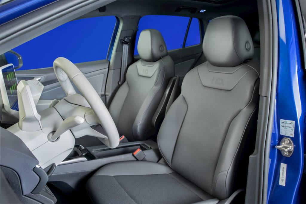 US-spec VW ID.4 front seats